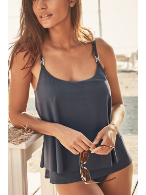 RADIANT CHAIN LAYERED TANKINI SET