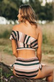 ICON WAVE SUNSET STRIPE BIKINI SET