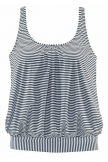 STRIPED LOOSE TANKINI SET
