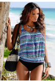 OVERSIZED MIX TANKINI SET