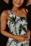 Mahalo Leaves Tankini Set